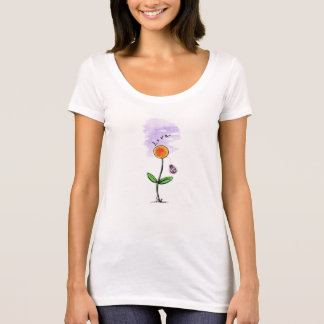 """Camiseta preciosa para las señoras """"conscientes"""""""