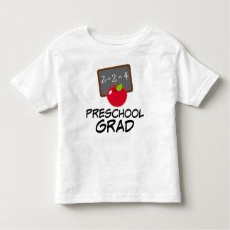 Camiseta preescolar del regalo de la graduación