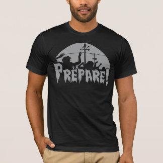 Camiseta Prepárese para los zombis