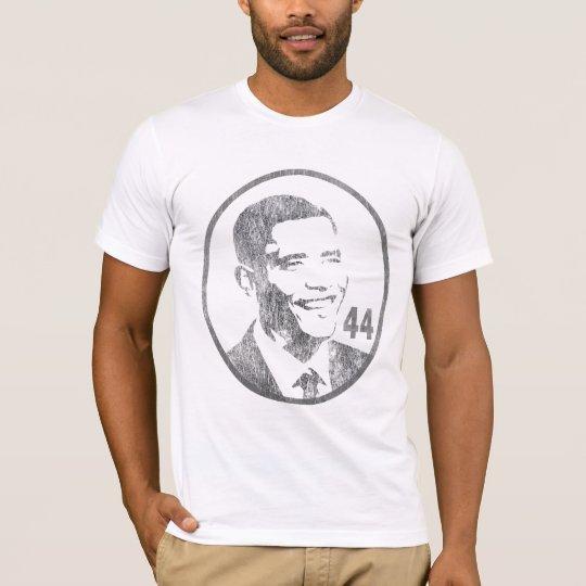 Camiseta Presidente Barack Obama - 44 - gris… - Modificado