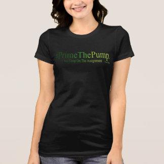 Camiseta #Prime la bomba - ningún sueño en la asignación