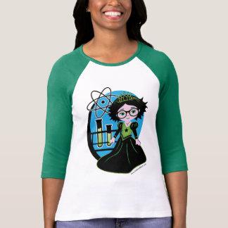Camiseta Princesa de la ciencia en vidrios