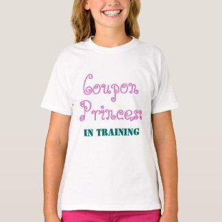 Camiseta Princesa de la cupón en ayudante del entrenamiento