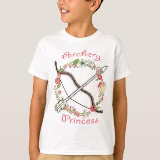 Camiseta Princesa de la flor del tiro al arco