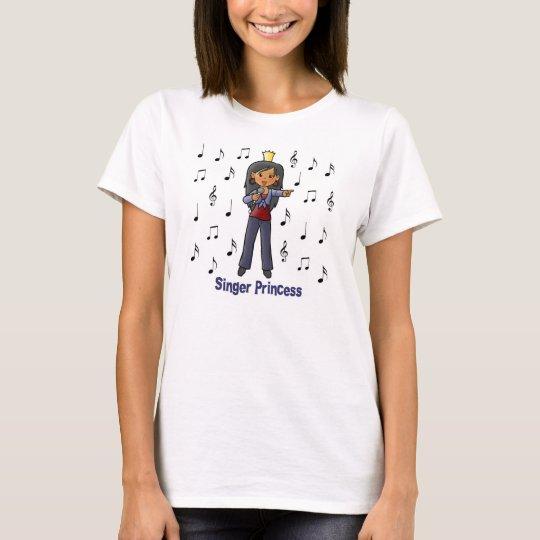 Camiseta Princesa del cantante