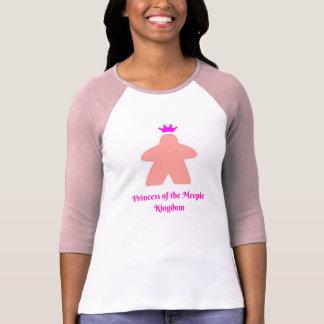 Camiseta Princesa del reino de Meeple