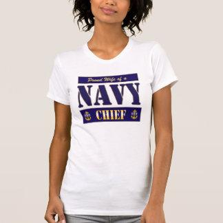 Camiseta Principal estilo del bloque de la esposa de la