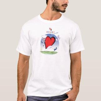 Camiseta Principal y corazón, fernandes tony de Idaho