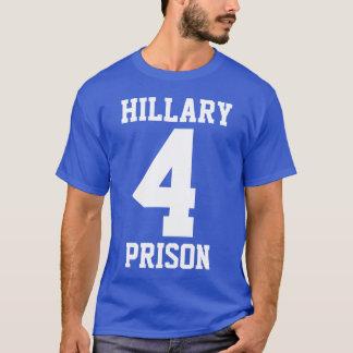 """Camiseta """"PRISIÓN de HILLARY 4"""" (de doble cara)"""