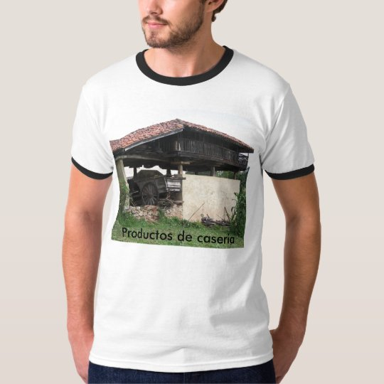 Camiseta Productos de caseria