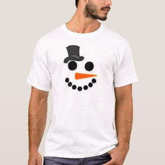Camiseta Productos del muchacho del muñeco de nieve