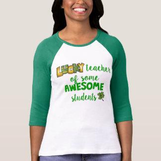 Camiseta Profesor afortunado