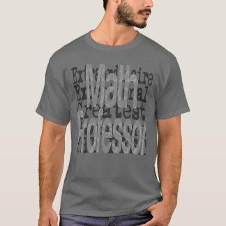 Camiseta Profesor de matemáticas Extraordinaire