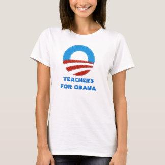 Camiseta Profesores para Obama
