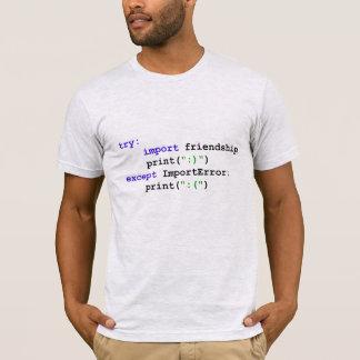 Camiseta Programa del pitón: Seamos amigos