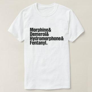 Camiseta Progresión del dolor - anestesia