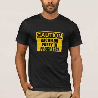 Camiseta Progreso de la despedida de soltero de la