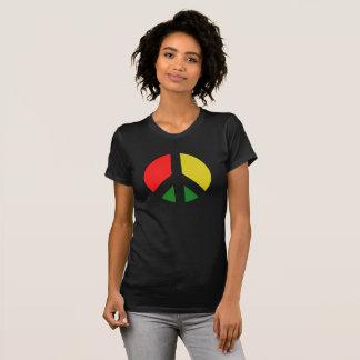 Camiseta Prohibición de Rasta el símbolo de paz de la bomba