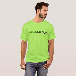 Camiseta promocional de la melodía verde
