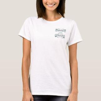 camiseta promocional del negocio elegante negro de