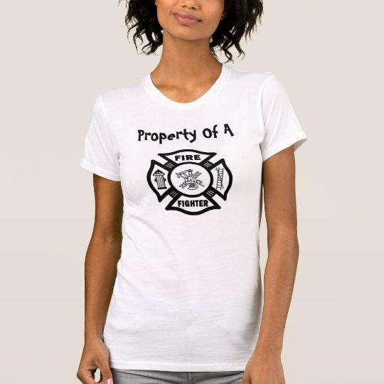 Camiseta Propiedad de un bombero