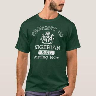Camiseta Propiedad del equipo de prisa nigeriano