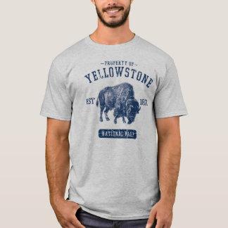 Camiseta Propiedad del parque nacional de Yellowstone