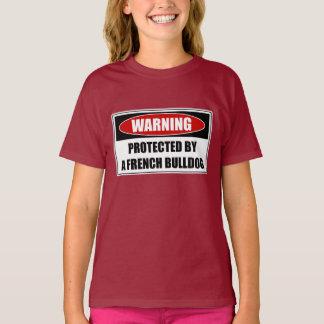 Camiseta Protegido por un dogo francés