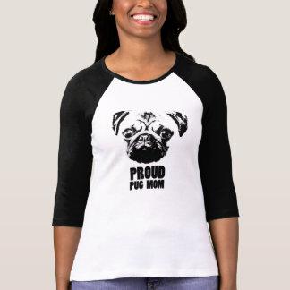 Camiseta proud pug mom