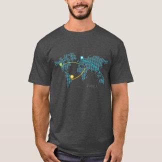 Camiseta Proyecto coloreado Fi - azul