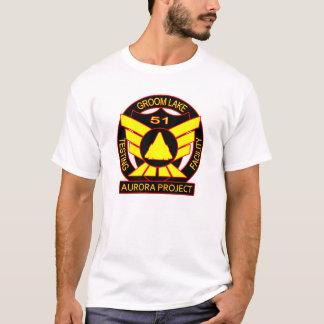 Camiseta Proyecto de la aurora del área 51