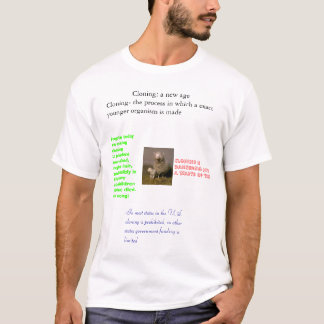 Camiseta Proyectos de la reproducción
