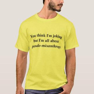 Camiseta pseudo misantropía