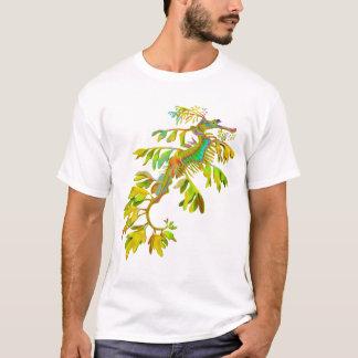 Camiseta psicodélica del Seahorse del dragón del