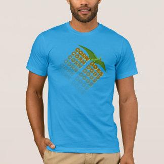 Camiseta pterodactyl de los perros de maíz