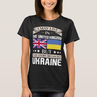 Camiseta Puede vivir en historia BRITÁNICA comenzó en