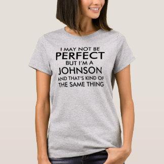 Camiseta Puedo no ser perfecto añado apellido