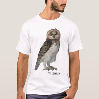 Camiseta Pueo, el búho hawaiano