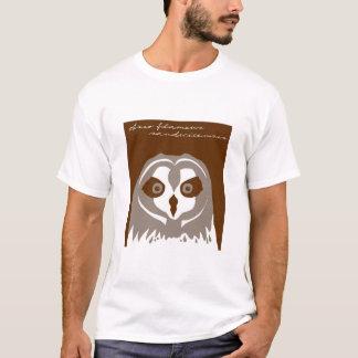 Camiseta Pueo, o búho espigado corto del Hawaiian