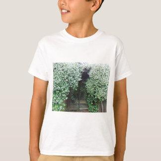 Camiseta Puerta cubierta en jazmín