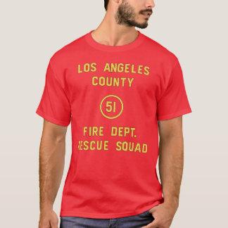 Camiseta ¡Puerta del pelotón 51 de la emergencia!