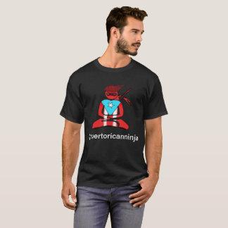 Camiseta Puertorriqueño Ninja
