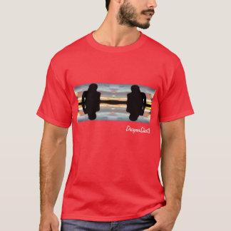 Camiseta Puesta del sol de la gema