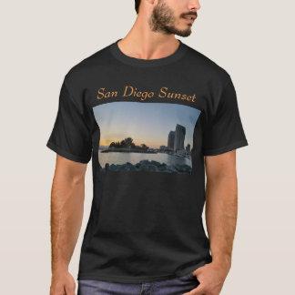Camiseta - puesta del sol de San Diego