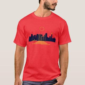 Camiseta Puesta del sol de San Francisco