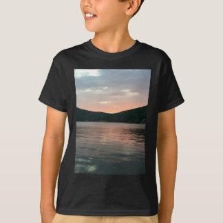 Camiseta Puesta del sol en el agua