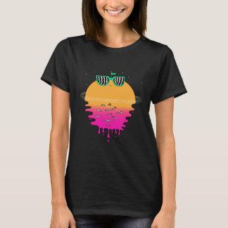 Camiseta Puesta del sol feliz