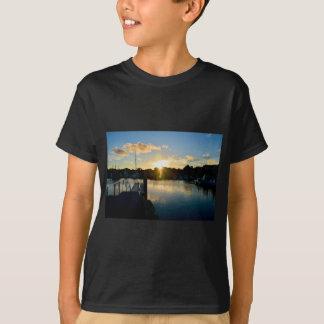Camiseta Puesta del sol sobre Cape Cod