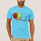 Camiseta Puestas del sol soleadas de la Florida