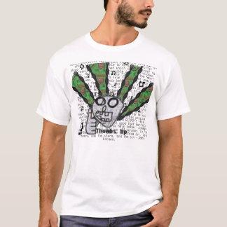 Camiseta Pulgares para arriba para la música